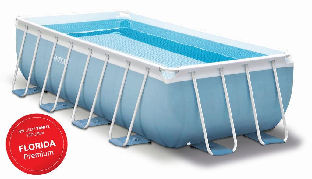 Bazén Florida Premium 2,00x4,00x1,00 m + KF 1,2 vč. přísl. - Intex 26776NP