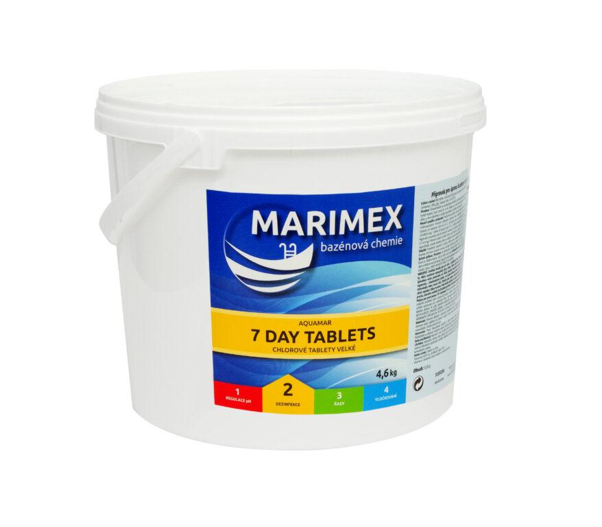 Marimex 7 Denní tablety 4,6 kg (tableta)