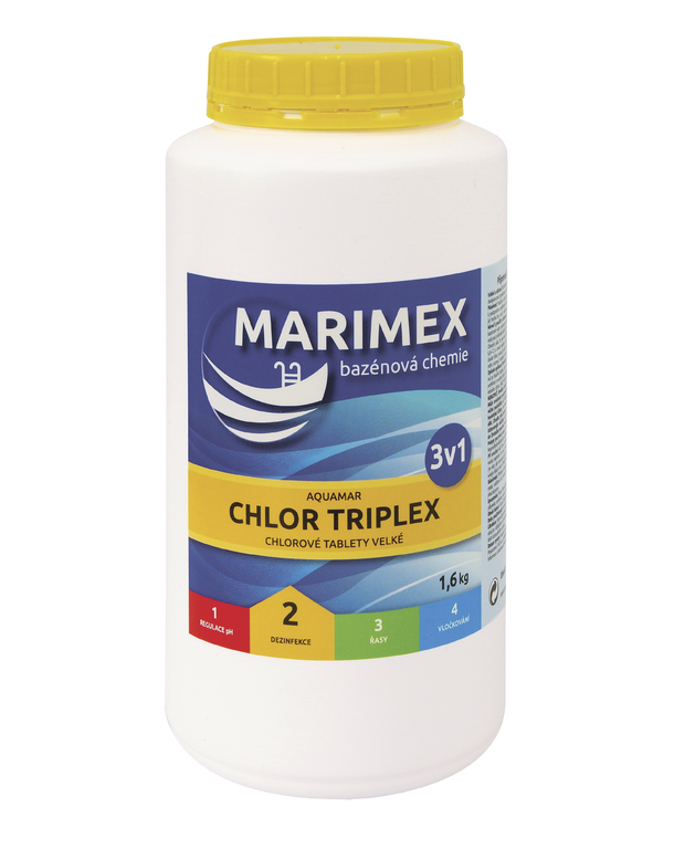 Marimex chlor  Triplex 1,6 kg   (tableta)