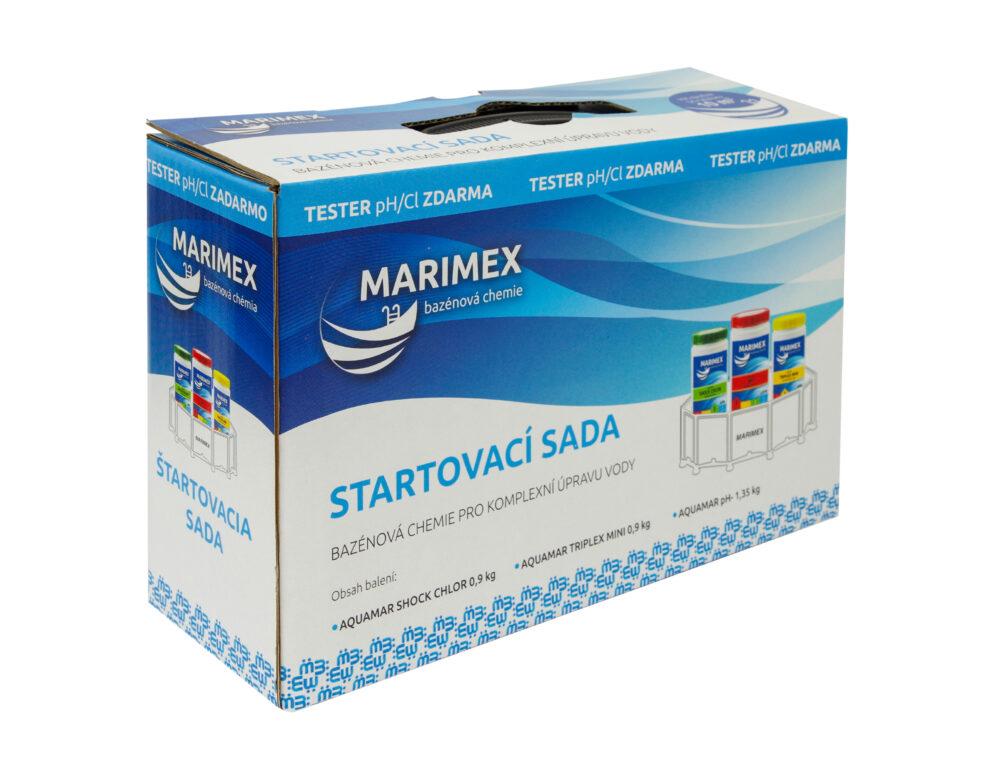 Marimex START set chemický (Shock, Triplex Mini, pH-, tester)