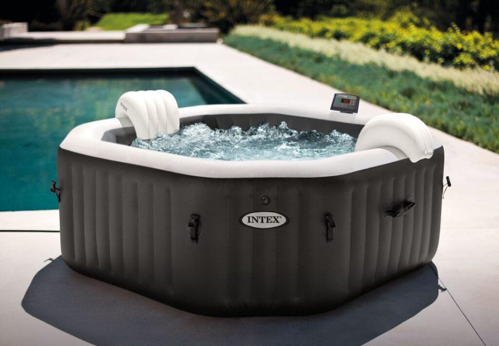 Bazén vířivý nafukovací Pure Spa - Jet & Bubble Deluxe HWS - Intex 28458EX