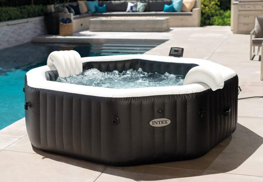 Bazén vířivý nafukovací Pure Spa - Jet & Bubble Deluxe HWS 6 - Intex 28462EX