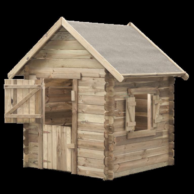 Domeček dětský dřevěný Western