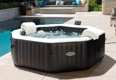 Bazén vířivý nafukovací Pure Spa - Jet & Bubble Deluxe HWS 6 - Intex 28462EX(11400256            )