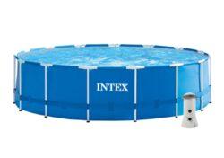 Bazén Florida 4,57x1,22 m + KF 3,8 vč. přísl. - Intex 28242/28236