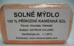 Mýdlo solné deo-pleťové - 200g