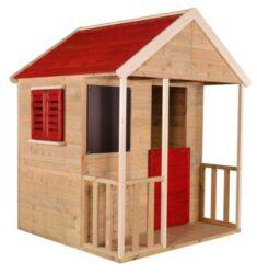 Domeček dětský dřevěný Veranda       + DÁREK (plastové míčky)