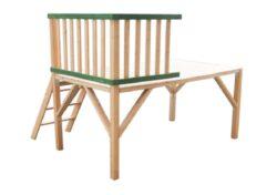 Platforma dřevěná k domečku Stáj