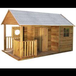 Domeček dětský dřevěný Farma       + DÁREK (plastové míčky)