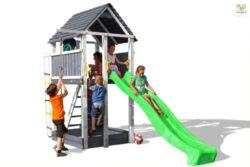 Hřiště dětské Marimex Play 004  Šedobílá