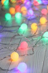 Řetěz 180 LED párty světýlka