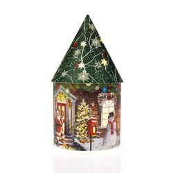 Domek vánoční svítící 5 LED
